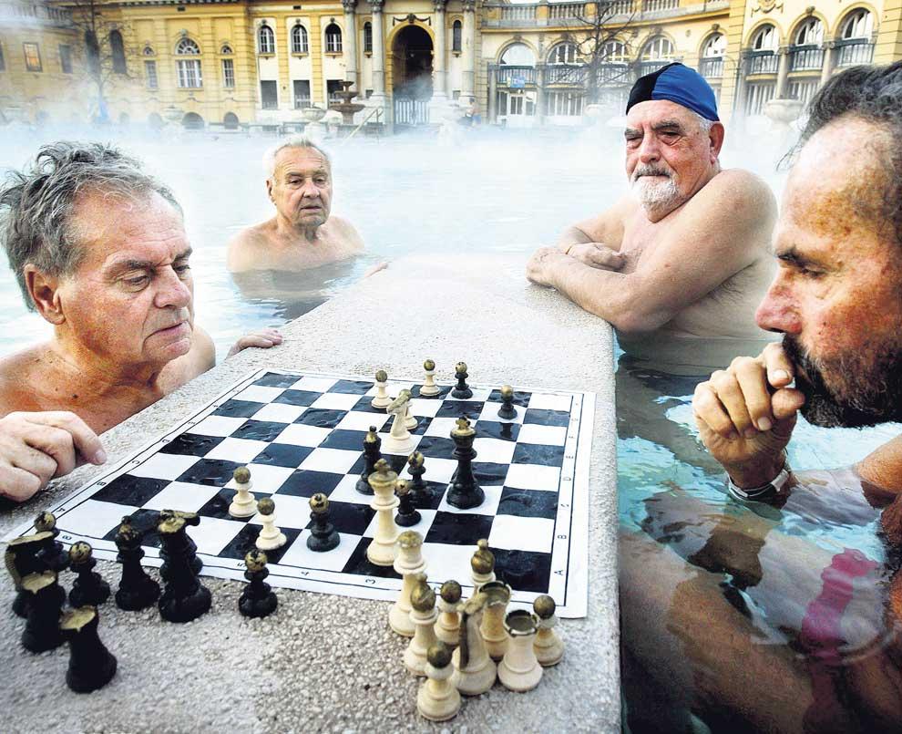 El ajedrecista de Budapest – Ajedrez en los balnearios (Hungría)