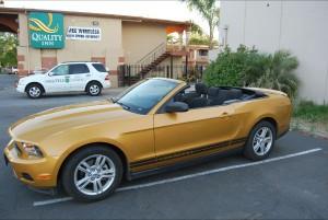 """""""Mi coche"""", el Ford Mustang que me acompañará por los EE.UU"""