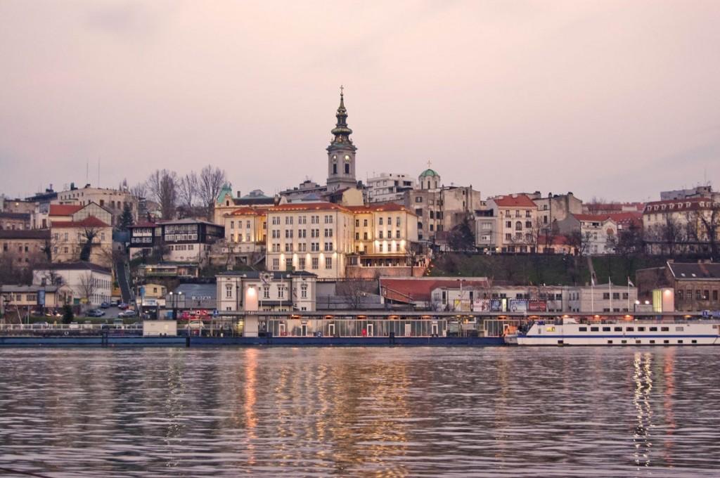 Panorámica de Belgrado, una de las etapas del viaje y ruta por los Balcanes