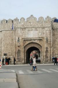 Entrada del castillo de Nis