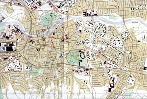 Mapa de Nis