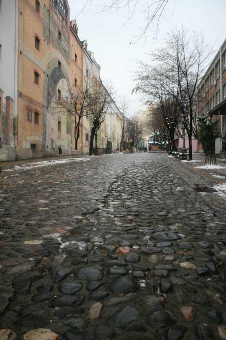 Calle Skadarlija en Belgrado