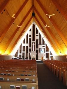 Iglesia Baptista de Columbus. Foto de the.urbanophile.