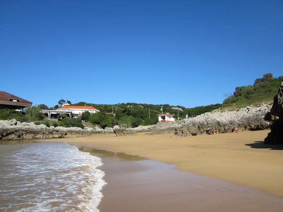 La playa de Arenillas. Foto de María Calvo.
