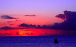 Antes de la tormenta- Puro Caribe europeo. Foto James Caned.
