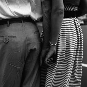 ¿La esperanza al fin?Nunca sabremos mucho más de lo que esta imagen nos dice. Nueva York, 1954. Vivian mayer