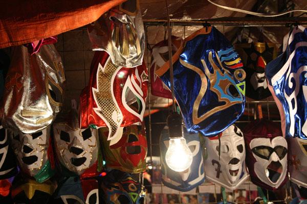 Un día en la Lucha libre mexicana en el Arenas de Mexico DF