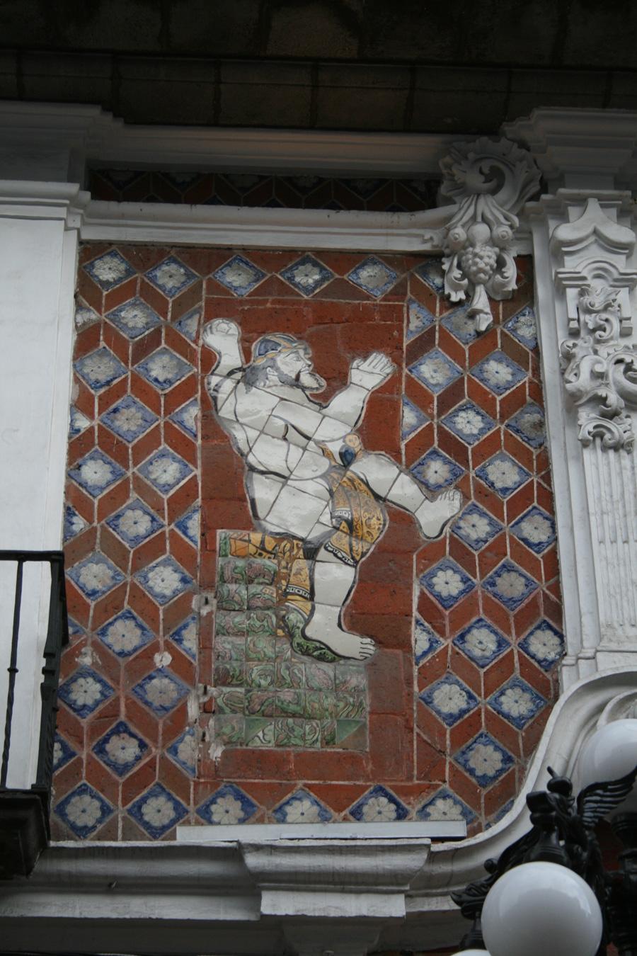 Casa de los muñecos de Puebla