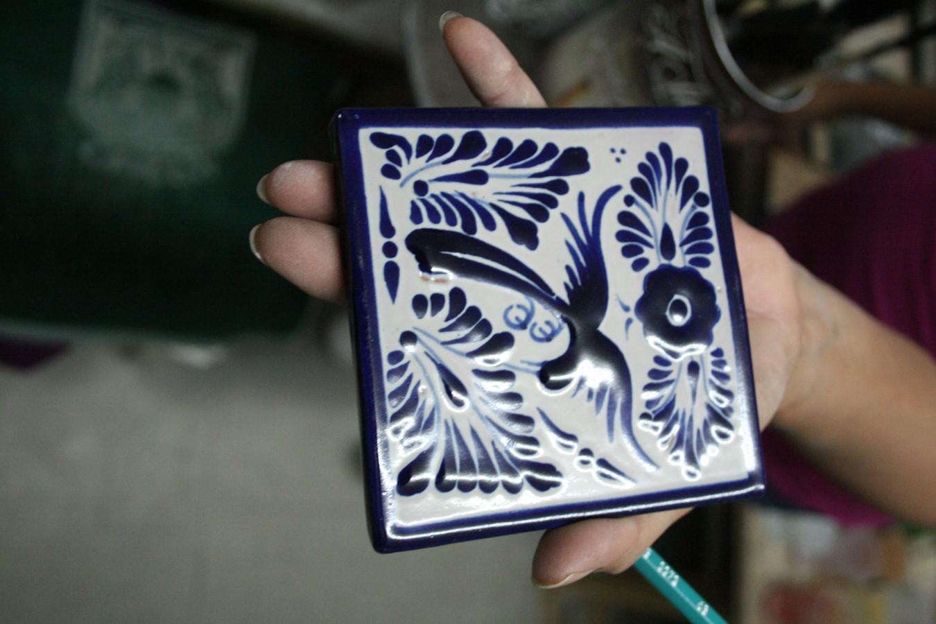 La cerámica de Talavera en Puebla (México)