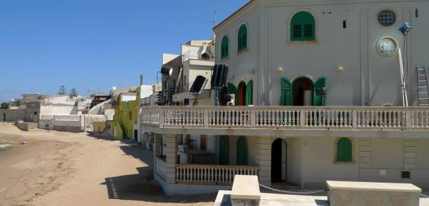 La casa de Montalbano en Punta Secca