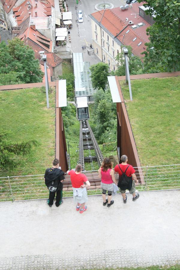 Funicular del castillo de Liubliana