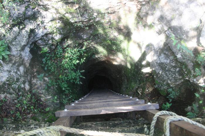 Entrada a cenote Bolonchoojol