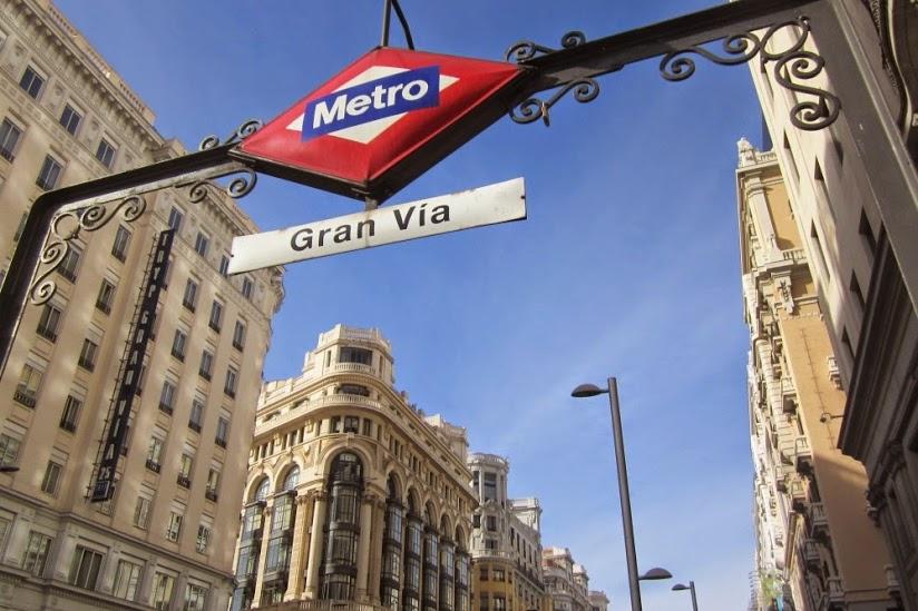 La Gran Vía de Madrid, imagen poética.