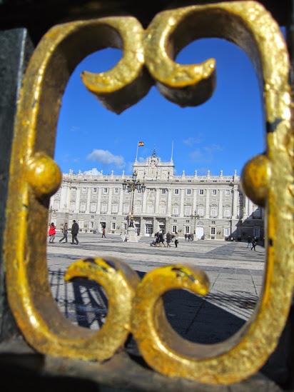 El Palacio de Oriente de Madrid. Ⓒ El Giróscopo Viajero.