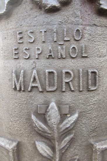 Madrid, estilo español. Ⓒ El Giróscopo Viajero.