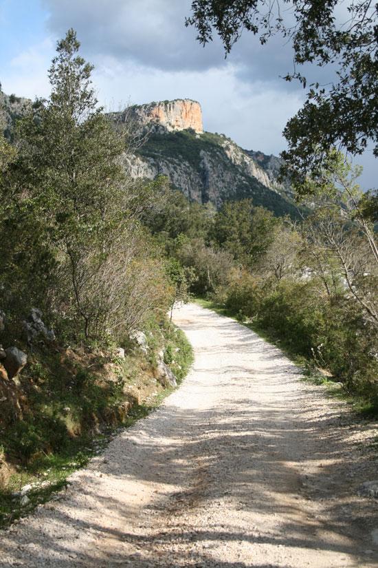 Camino del monte Tíscali