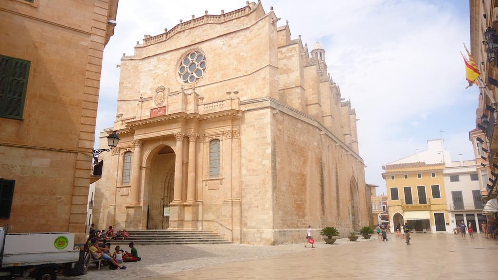 La magnífica catedral de Ciudadela, una joya del Gótico. Itxaso Pedrueza.