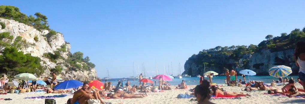 Viaje a Menorca con niños