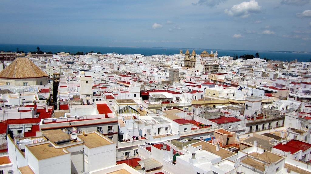 Cádiz vista desde la Torre Tavira