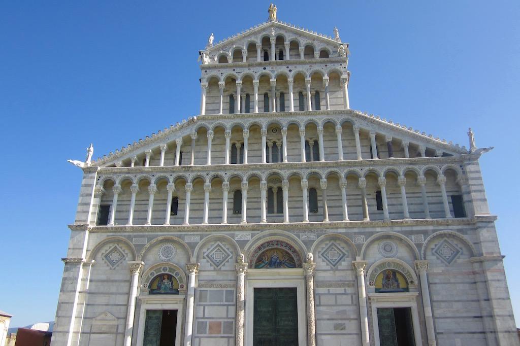 El Duomo de Pisa, una magnífica obra arquitectónica. Párense a admirarla, aunque se impacienten por ver la torre de Pisa . © María Calvo.