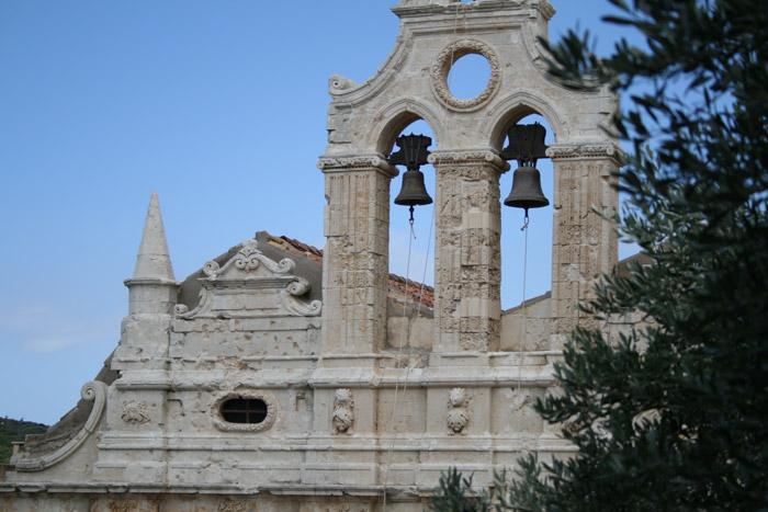 El Monasterio de Arkadiou en Creta, símbolo de la resistencia griega