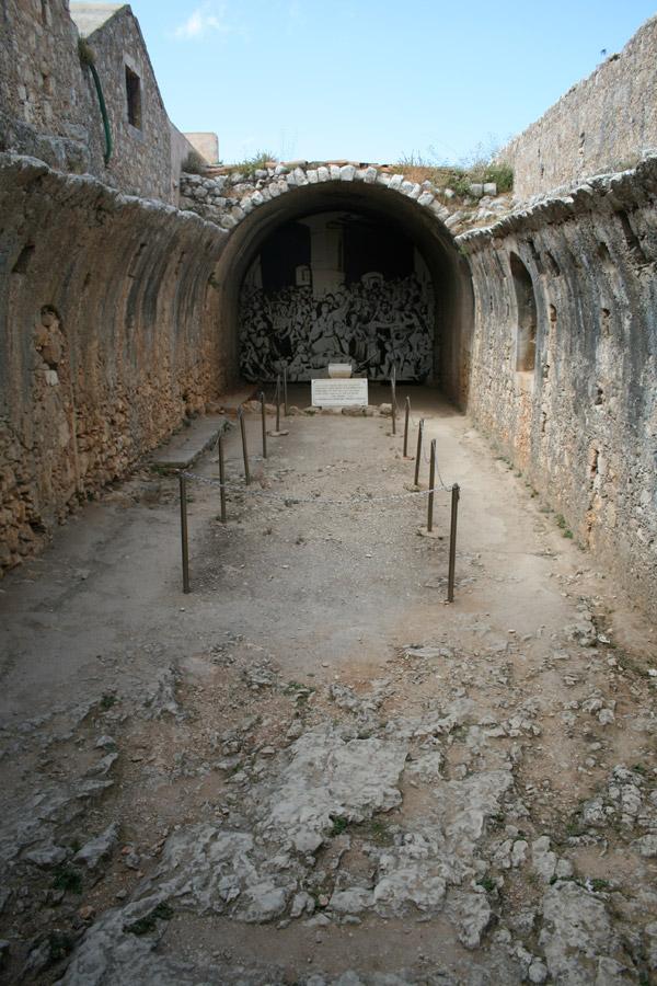 Polvorín del monasterio de Moni Arkadiou