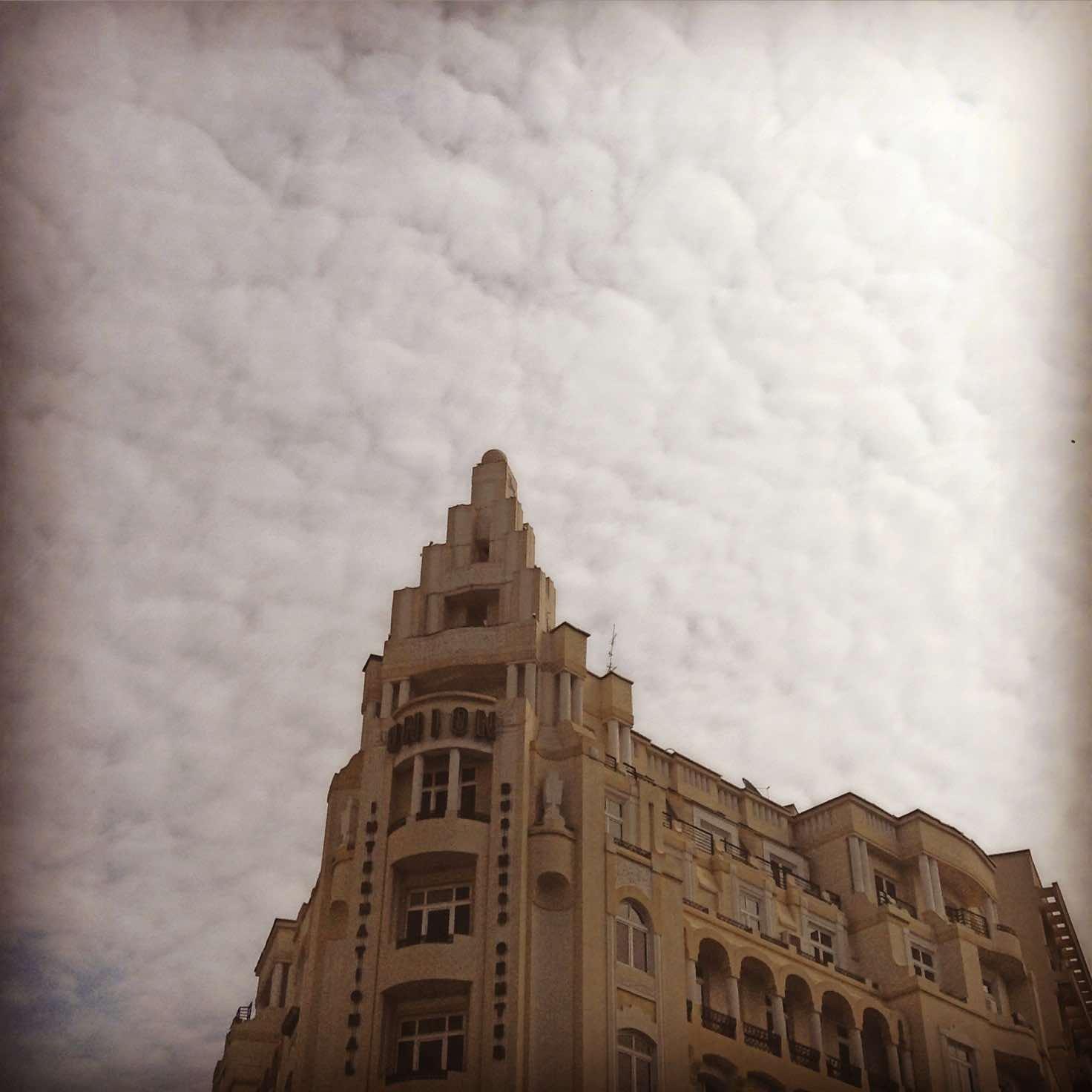 Edificio Union, una muestra del modernismo a la rumana.©Íñigo Pedrueza