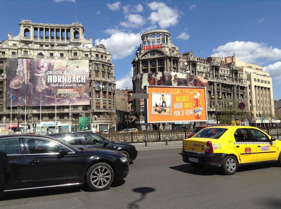 Bucarest una ciudad de muchos contrastes, pero siempre positivos. ©Íñigo Pedrueza