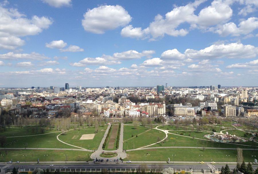 Vista de Bucarest desde el Palacio del Pueblo. ©Íñigo Pedrueza