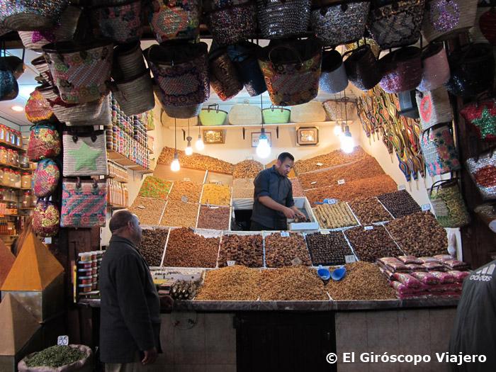La mágica plaza Jemaa el Fna en Marrakech