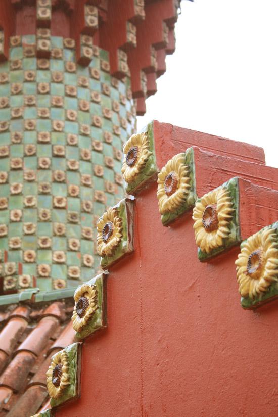 Detalle del Capricho de Gaudí