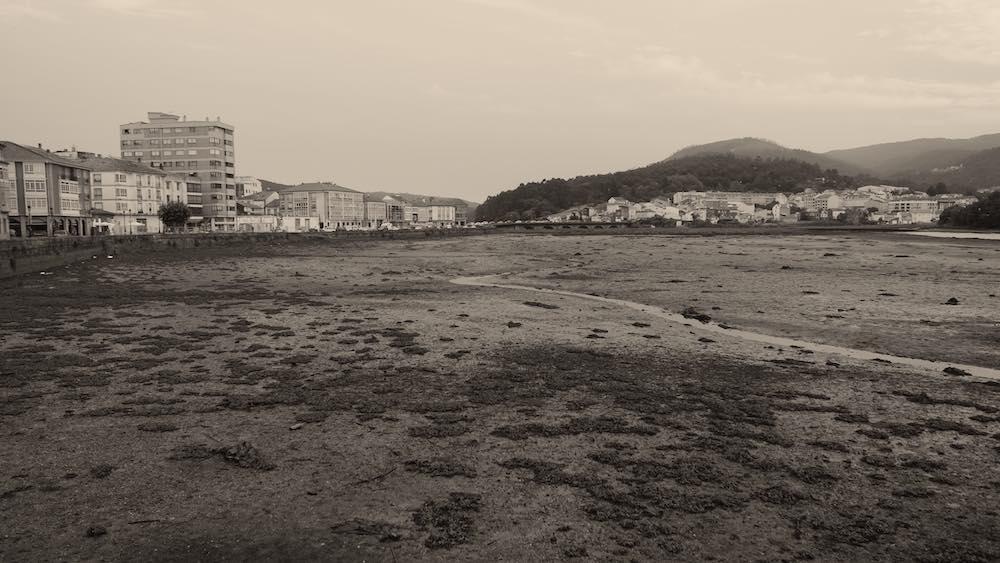 Noya, durante la marea baja. ©Iñigo Pedrueza.