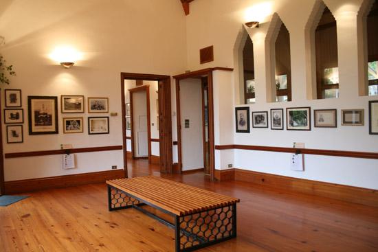 Salón del Capricho donde se celebraban conciertos musicales