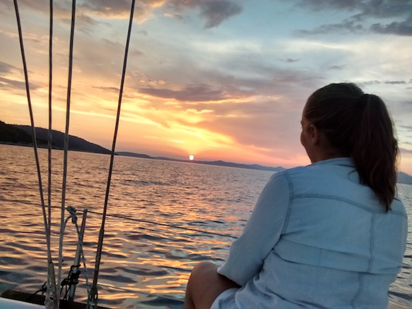 Fin del viaje en velero por Croacia