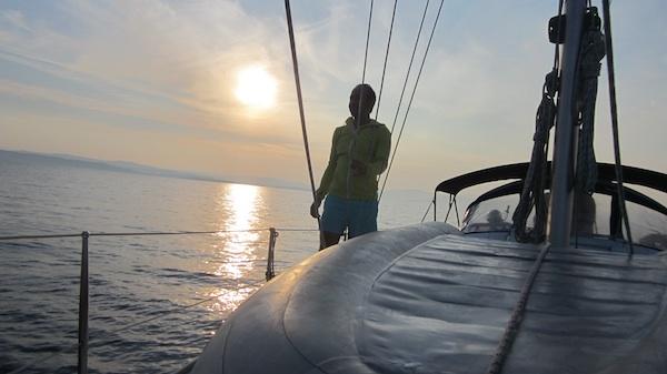 Camino de Vis por la costa croata