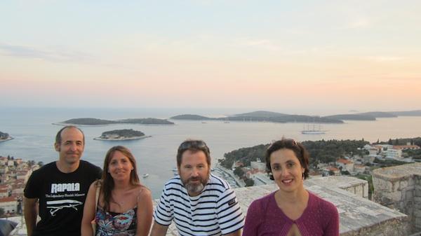 El equipo del Giróscopo en la fortaleza Spanjola