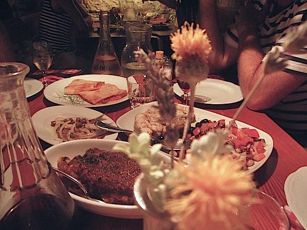 Cena en la Konoba Menego