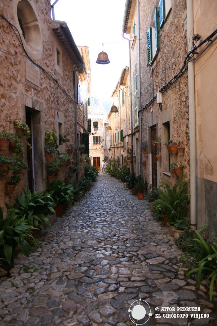Calles del pueblo de Valldemossa