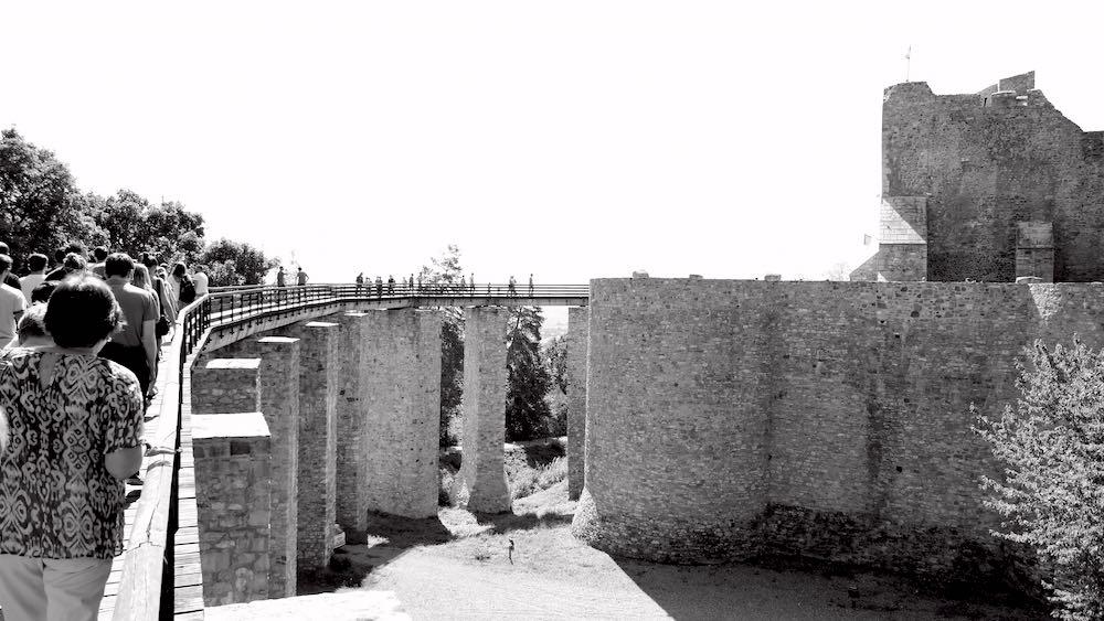 Castillo de Neamt, bastión importante durante el gobierno de Esteban III. ©Iñigo Pedrueza.