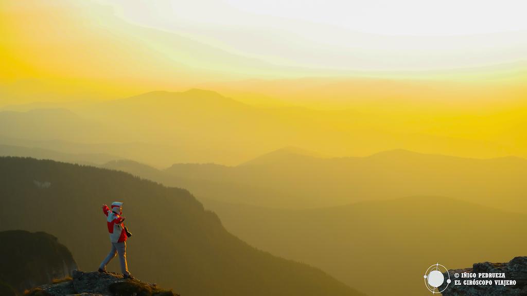 El último sol del día. ©Iñigo Pedrueza.