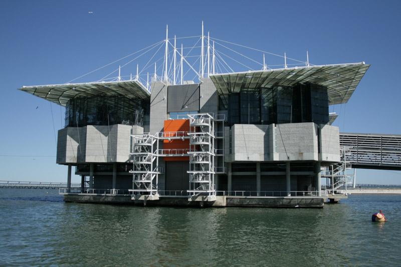 Edificio del acuario lisboeta