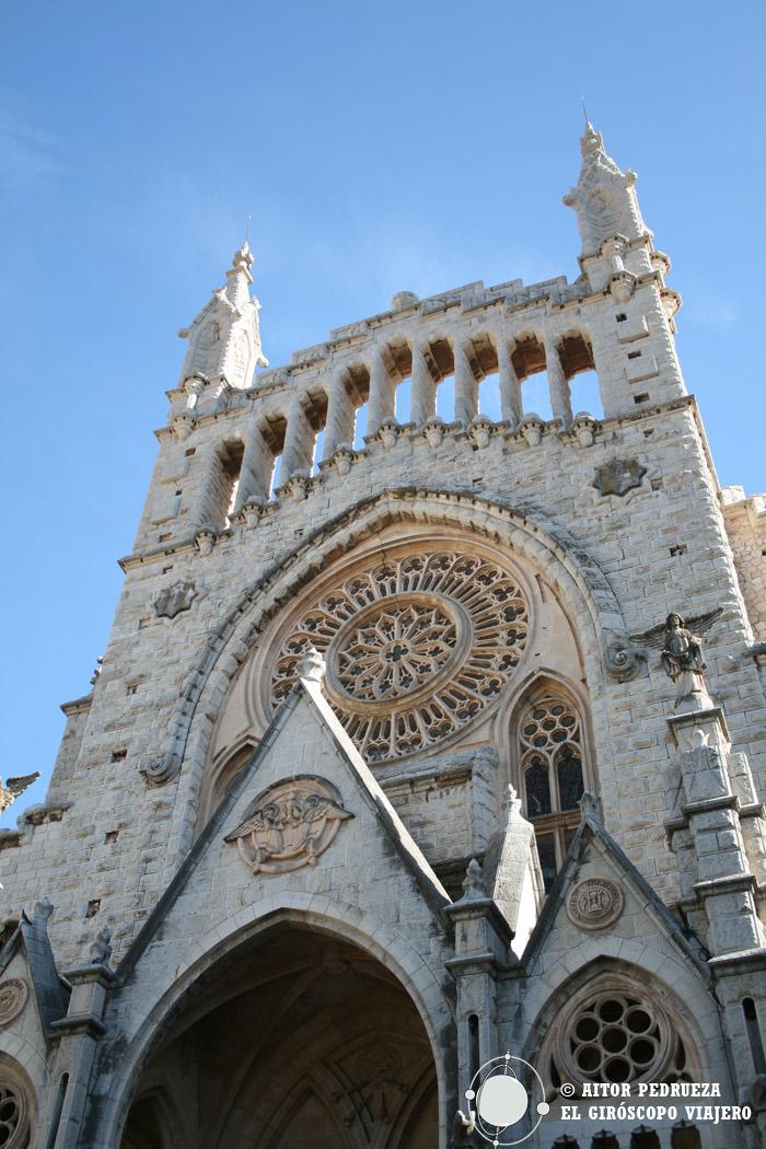 Iglesia de Sant Bartomeu en Sóller