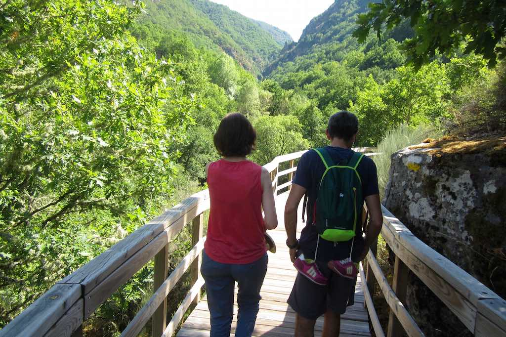 Una bonita ruta de senderismo para ir en familia, con amigos. ©María Calvo.