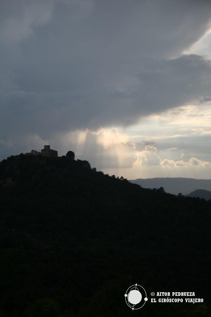 La tormenta llega al Montseny