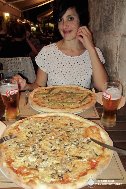 Las pizzas más grandes que comí nunca