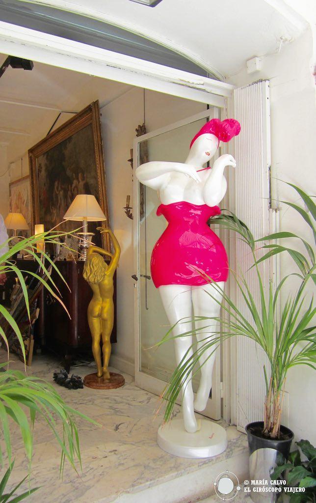 Los 100 anticuarios de Niza