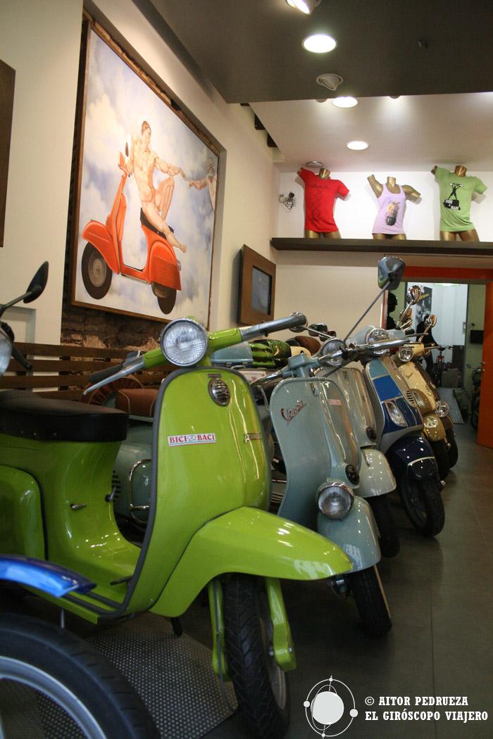 Recogida del Alquiler de bici en Roma