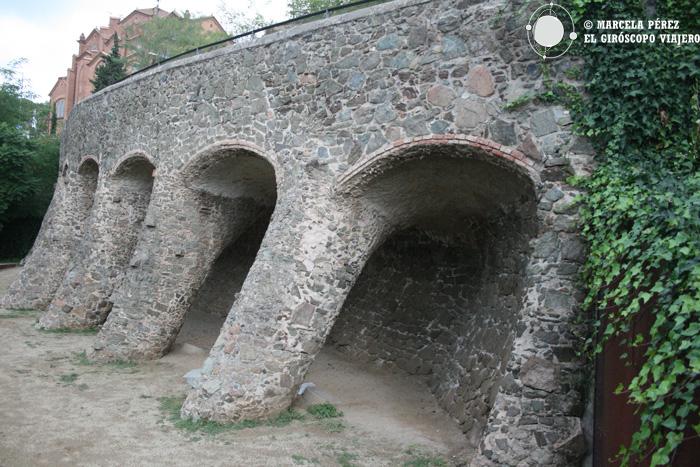Viaducto del exterior de Bellesguard