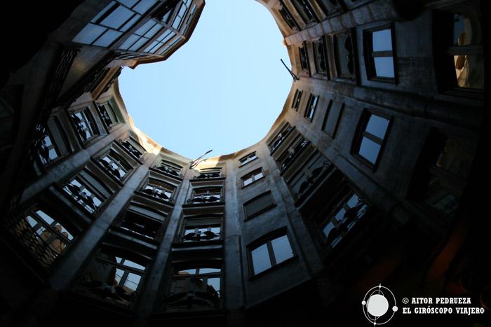 Los apartamentos de la Pedrera desde el interior