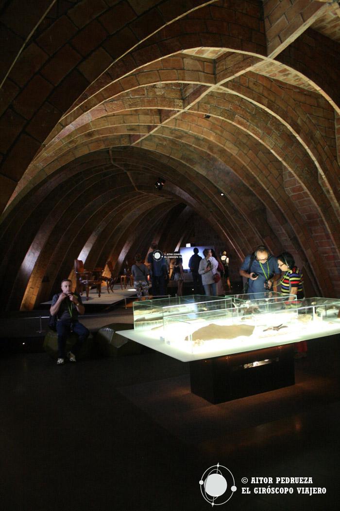 Espacio Gaudí de la Pedrera en el área de tendederos.